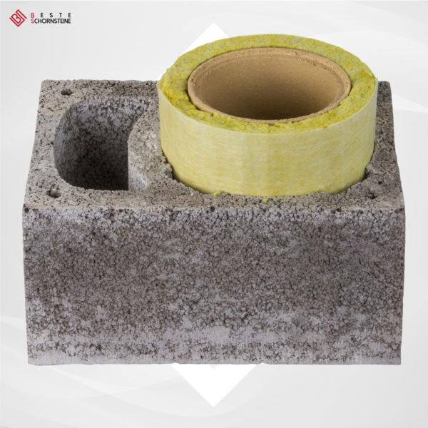 Mantelstein mit Z-Schacht + keramik Rohr